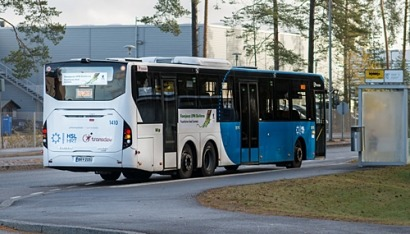 Biodiésel procedente de residuos de la industria papelera en autobuses de Finlandia