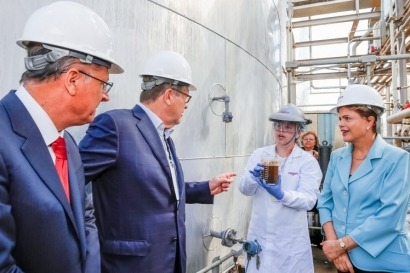 Inauguran planta de etanol de segunda generación