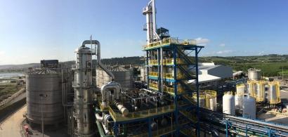 En operaciones la primera planta de etanol de segunda generación