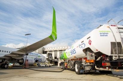 United Airlines comienza a utilizar biojet