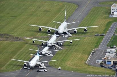 Dos millones de toneladas de biocarburantes especiales para aviones en 2020