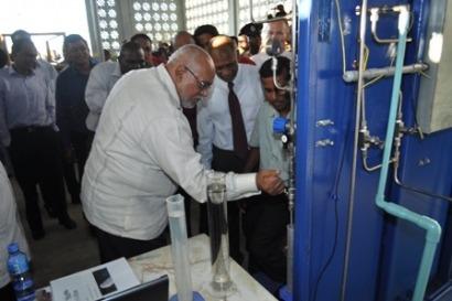 Primera planta de etanol
