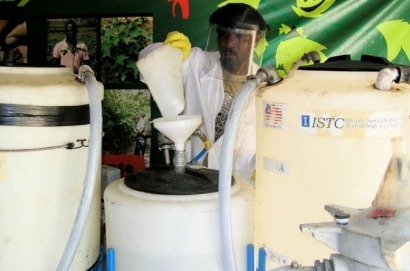 Primer proyecto de biocombustibles