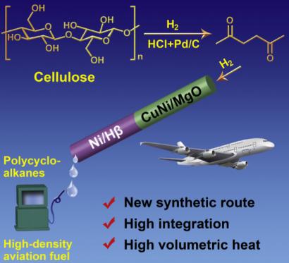 Un biocarburante con pasto de trigo que da más autonomía de vuelo que uno convencional