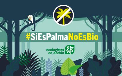 Baja el consumo de biodiésel de palma en España, pero se mantienen las protestas