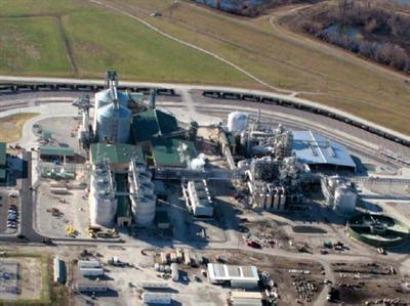 Abengoa tiene casi colocadas sus dieciséis plantas de biocarburantes