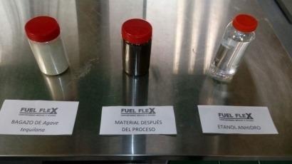 Coches de investigadores se mueven con etanol de subproductos del tequila