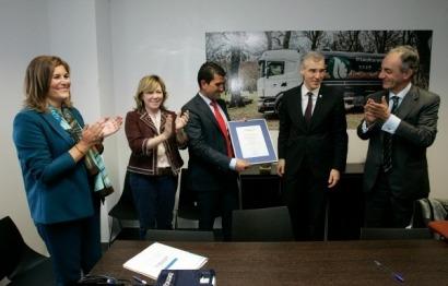 Biomasa Forestal obtiene el primer sello Galicia Calidade para pélets