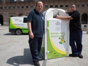 Zaragoza: apuesta continua por reciclar aceite usado con integración laboral