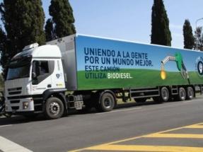 La cervecera argentina Quilmes impulsa sus camiones con biodiésel