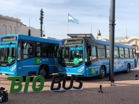 Rosario: Resultados positivos tras dos meses del BioBus, que utiliza 100% de biodiésel