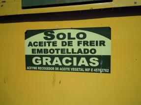 Ayudas a entidades locales para la recogida de aceites usados y proyectos de biogás