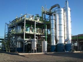 La planta de etanol de Acabio será la más grande del país