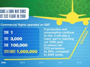 Los biocarburantes para aviación y el biometano de la ley de cambio climático, sin objetivos aún