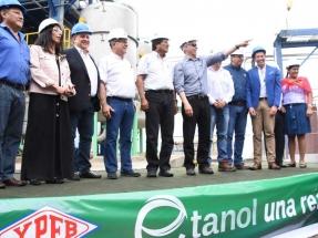 Evo Morales inaugura una planta de etanol días después de promulgar una ley que impulsa los biocombustibles