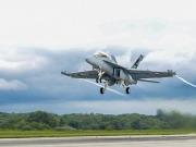Un avión militar probado con 100% de biojet