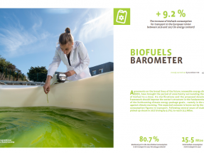 Despega de nuevo el consumo de biocarburantes en la Unión Europea