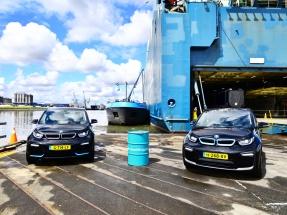 Buques de carga de automóviles llegan a Santander con aceite de cocina como biocarburante