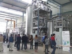La biorrefinería piloto Clamber produce biobutanol a partir de hemicelulosa