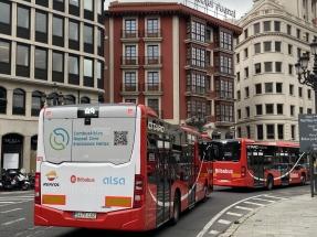 Los autobuses urbanos de Bilbao utilizan hidrobiodiésel a partir de residuos orgánicos