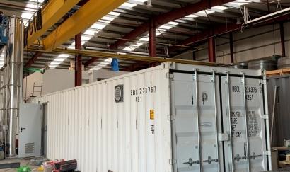 AGF pone en marcha su mini planta de biogás con conversión a biometano