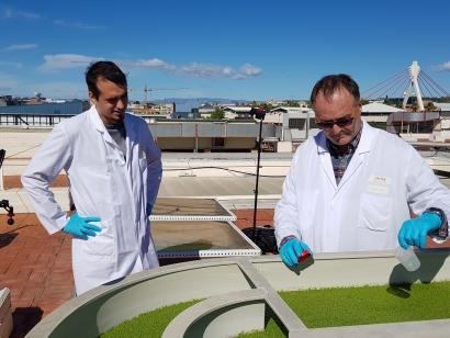 La planta de Ecobiogas en Porgaporcs se convierte en referente de la investigación en España