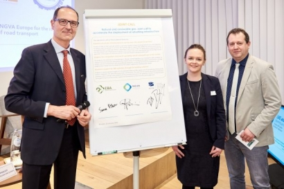 La industria europea del biogás se alía con la del gas para apoyar también a los combustibles fósiles