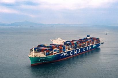 Biometano para cubrir el transporte marítimo de contenedores entre San Petersburgo y Rotterdam