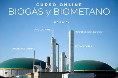 Curso sobre biogás y biometano