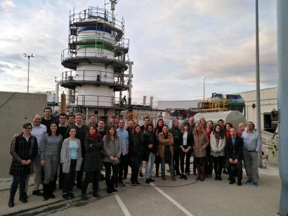 Urbiofin, un proyecto que convierte el bioetanol en bioetileno y limpia el biogás de siloxanos