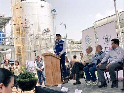 Inauguran en Ciudad de México la primera planta de residuos que genera biogás