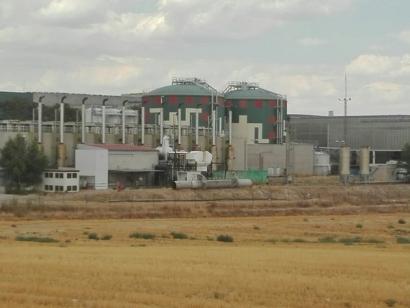 Una planta de biometanización en Pinto que da muy mala imagen y peores olores