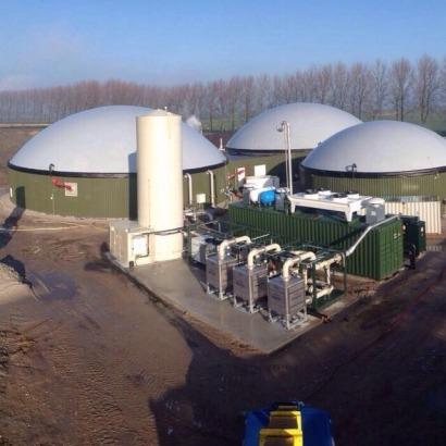 Biogás de Murcia a Holanda pasando por Galicia