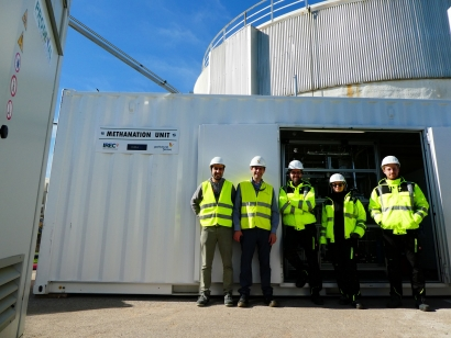 Nuevo paso para abrir un futuro comercial al power-to-gas en España