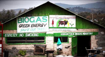 Sangre de mataderos para producir biogás en bombonas