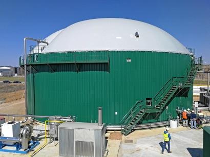 La planta de biogás de Tuero produce ya al 140% de su producción nominal