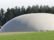 Una planta de residuos orgánicos para crear biogás