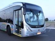 Brasil presenta su primer autobús movido con biometano