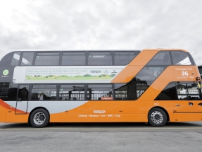 Presentan en Inglaterra la mayor flota de autobuses de dos pisos con biogás