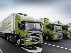 Una flota de 500 camiones con biometano para el suministro de supermercados británicos