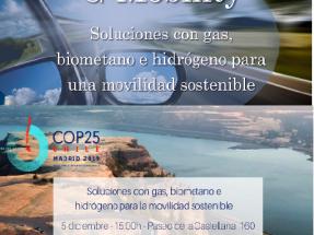 El discurso del biogás en la COP25 lo abandera el gas fósil