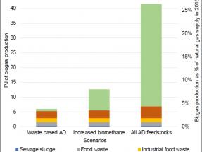 Irlanda podría cubrir una cuarta parte de la demanda de gas con biogás