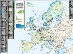Mapa para localizar las 497 plantas de biometano de Europa y saber qué producen y con qué