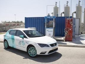 Aqualia y Seat mantienen su relación con el biometano en fase piloto