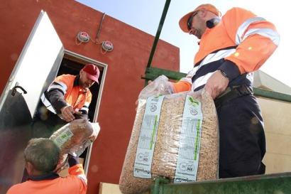 Ante las noticias sobre falta de suministro de pélets, Apropellets asegura que está garantizado