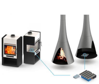 Llega el autoconsumo eléctrico a las estufas de biomasa