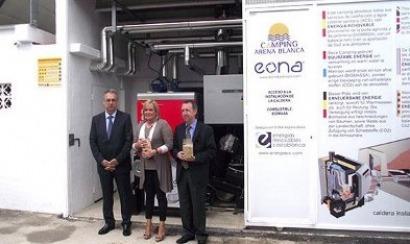 Las calderas austriacas de biomasa llegan hasta Benidorm