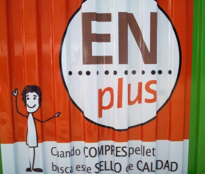 Mil empresas de los cinco continentes cuentan con el certificado de calidad de pélets ENplus