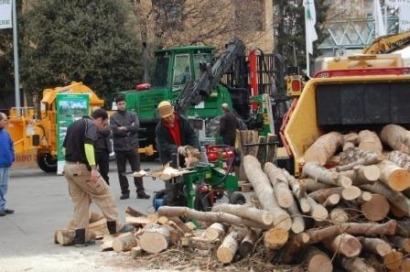 Feria forestal de Cataluña hacia Europa