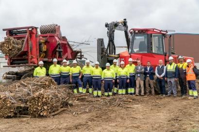 Greenalia y Ence, dos grandes de la biomasa energética en España, con sello Madera Justa